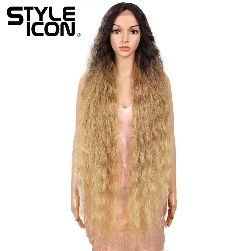"""Style Don't miss the campaign Icon Store 41"""" Lace Front wit Long Wavy Synthetic Wigs"""