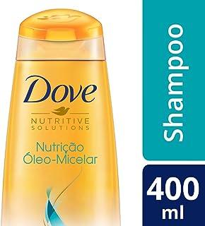 Shampoo Dove Nutrição Óleo Micelar 400 ML, Dove, Branco