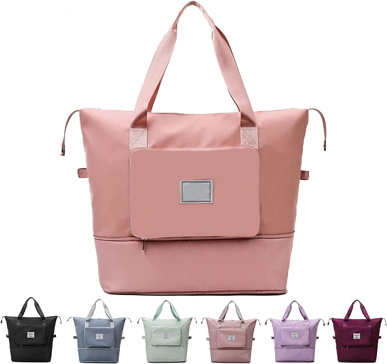 Large Capacity Folding Travel Duffel Foldable Award-winning store Bag OFFicial shop Dr