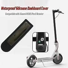 coque de protection anti-poussi/ère compatible avec le scooter /électrique Xiaomi M365 Pro /Étui en silicone transparent pour panneau de tableau de bord en caoutchouc r/ésistant /à la poussi/ère