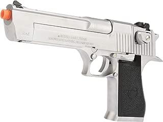 Evike WE-Tech Desert Eagle .50 AE Full Metal Gas Blowback Airsoft Pistol by Cybergun