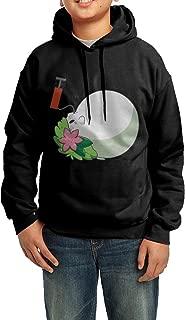 Black Pokemon Shaymin Anime Chibi Cute Kawaii3 Cotton Hooded Sweatshirts For Teenagers Funny
