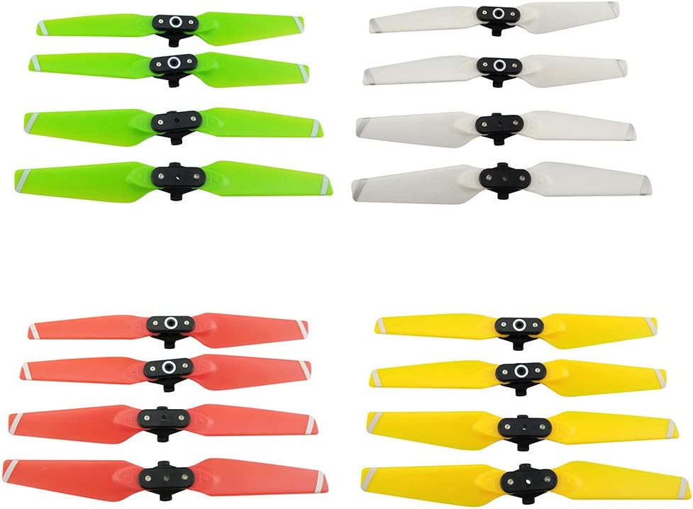 4 Pcs CW//CCW 4730F Props Propeller for RC DJI Spark Quadcopter Replacements Red