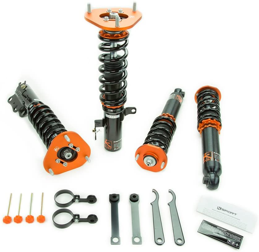 KSP-CVW131-KP Full Coilover System supreme Max 79% OFF Increases Lowers Vehicle