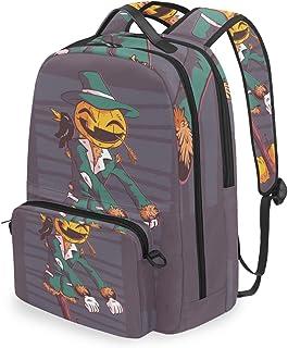 Mochila con bolsa cruzada desmontable, mochila para ordenador de Halloween, bolsa para viajes, senderismo, acampada