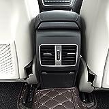 Pour MB A/B/GLA/CLA Classe C117: W176AMG Car-styling ABS Chromé arrière rangée Climatisation Vent Garniture Accessoires