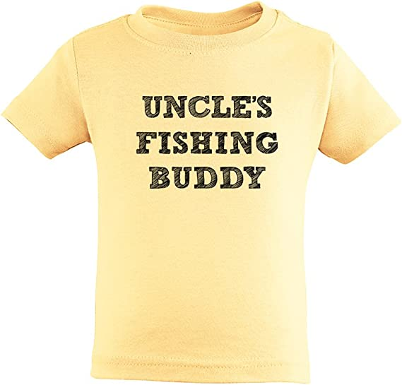 Uncle/'s Little Bass Playing Buddy Toddler T Shirt