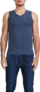 Men's Warm Vest Seamless Thickened Underwear Sleeveless Waistcoat Thermal Tank Top Plus Size