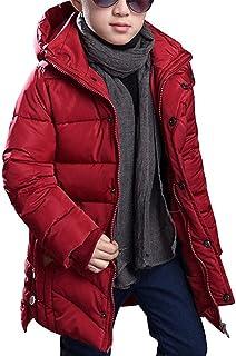 Lisa Pulster キッズ ダウンコート ジャケット 防寒 子ども 男の子 冬 ボーイズ 中綿コート フード付き アウター