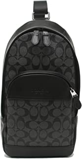 CHARLES PACK IN SIGNATURE CANVAS, F39942,CHARCOAL