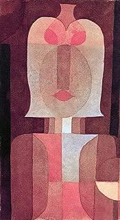 kunst für alle Art Print/Poster: Paul Klee Mask Picture, Fine Art Poster, 19.7x35.4 inch / 50x90 cm