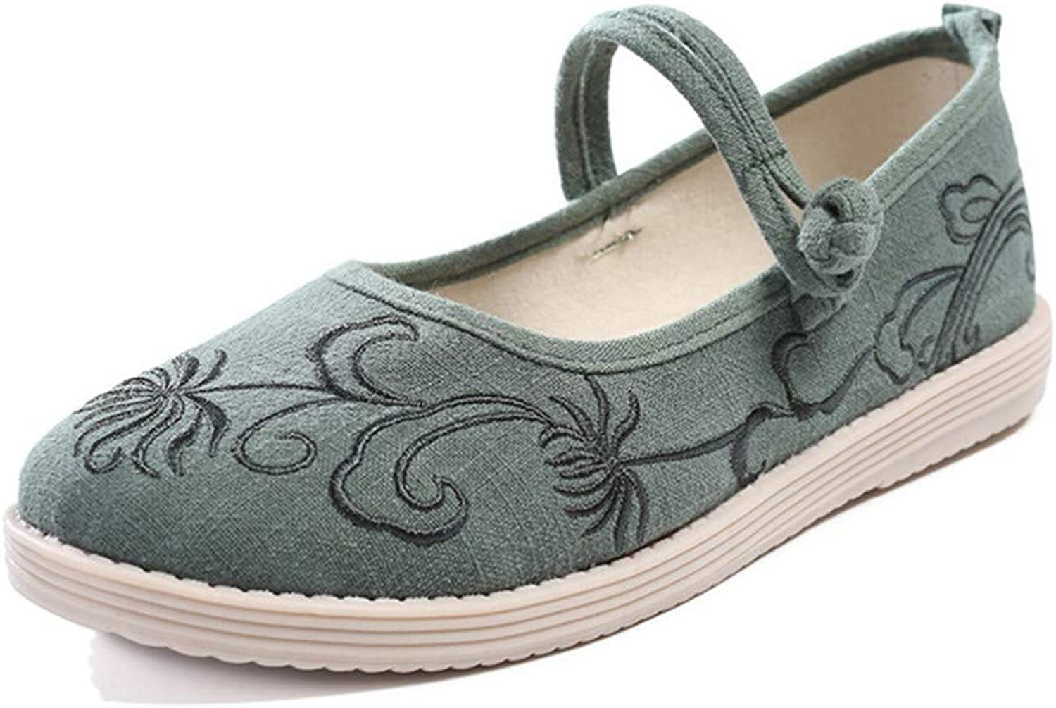 Cloth shoes, Embroidered shoes, Mother shoes, Women's shoes, Dancing shoes-YU&Xin