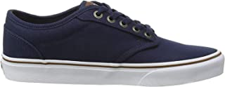 Vans Atwood Mens Shoes, Canvas Navy/White, 45 EU