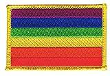 Flaggen Aufnäher Regenbogen Fahne Patch + gratis