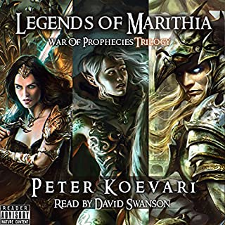 Legends of Marithia audiobook cover art