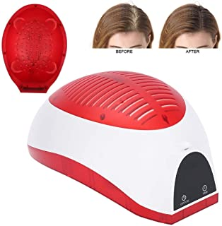 Hair Growth System,USB Hair Growth Regrowth Helmet Reduce Hair Loss Cap Hair Treatment Cap Helmet for Men Women
