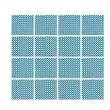 Yardwe 100 Piezas de Papel de Envolver de Calidad Alimentaria Papel para Hornear a Prueba de Aceite Revestimiento de Cestas a Prueba de Grasa para Pan de Hamburguesa Sándwich (Azul)