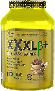 4+ NUTRITION - XXXL β+, Complément sportif, Glucides et protéines de lactosérum, pour la performance physique et énergétiq...
