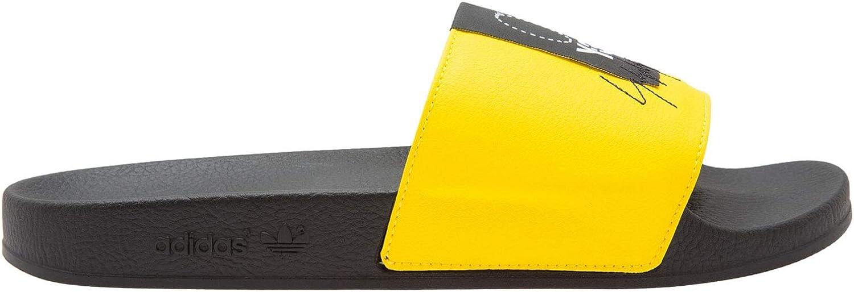Adidas Damen Y-3 Adilette Slides Gelb schwarz BC0912