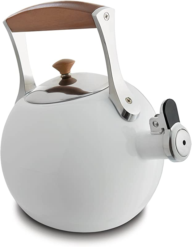 Nambe MT0888 Tea Kettle White