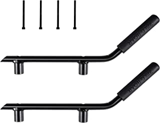 Rear Grab Handles Grip Handle Grab bar For Jeep Wrangler JK JKU Sports Sahara Freedom Rubicon X & Unlimited 2007-2018 - Pair (Matte Black)
