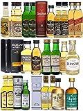 Adventskalender mit 16 verschiedenen Whisky Miniaturen insg. 24 Stück