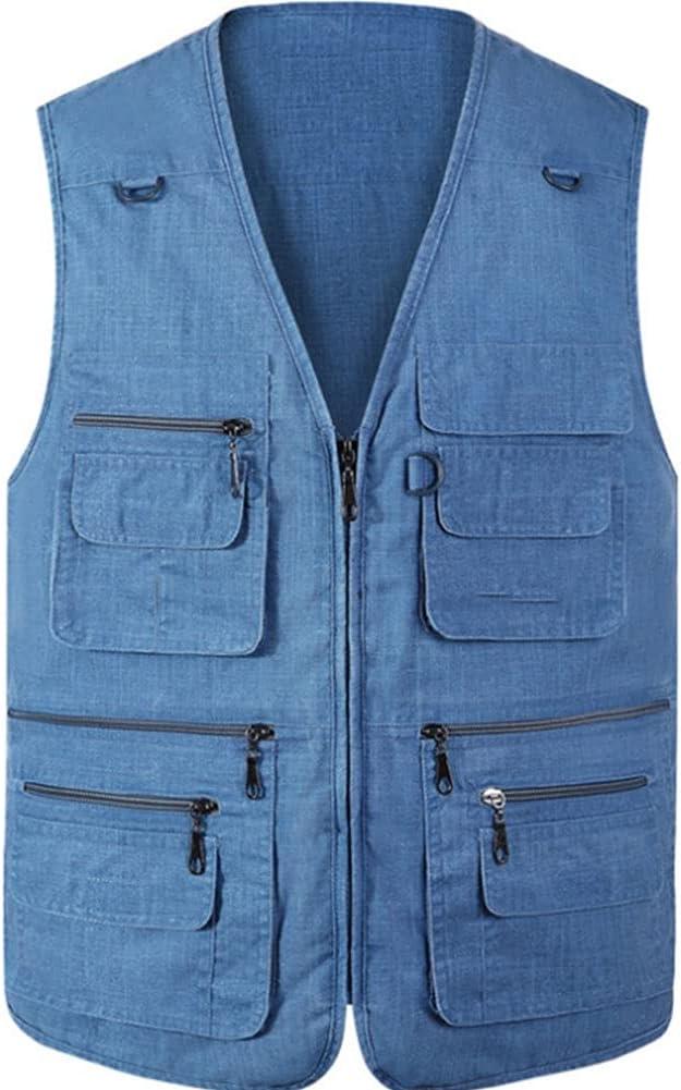 Fishing Now free shipping Popular popular Vests for Men Men's Mult Vest Waistcoats