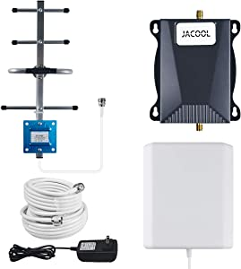 Cell Phone Signal Booster AT&T 5G 4G LTE Band 12/17 US Cellular T Mobile ATT Cell Signal Booster AT&T Cell Phone Booster ATT Signal Booster Amplifier Cell Extender for Remote Area Home 4,000 sq ft