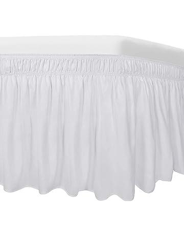 Amazon.es: Faldas de la cama: Hogar y cocina