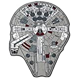 Star Wars Large Millenium Falcon Rug, 59' L x 79' W