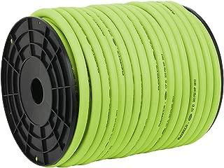 Flexzilla Pro Air Hose, Bulk Plastic Spool, 1/2 in. x 250 ft, Heavy Duty, Lightweight, Hybrid, ZillaGreen - HFZ12250YW