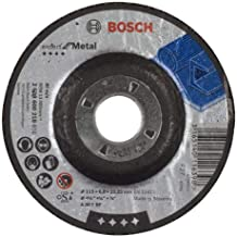 Bosch Grinding Disc With Depressed Centre Expert for Metal A 30 T BF, 115 mm, 6,0 mm - 2608600218