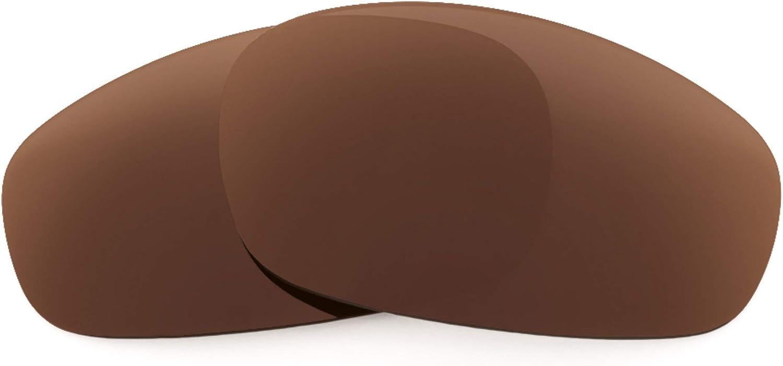 Revant Verres de Rechange pour Oakley Split Jacket - Compatibles avec les Lunettes de Soleil Oakley Split Jacket Marron Foncé - Polarisés Elite