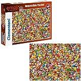 Clementoni 39388.6 - Puzzle 'Unmöglich - Emoji', 1000 Teile