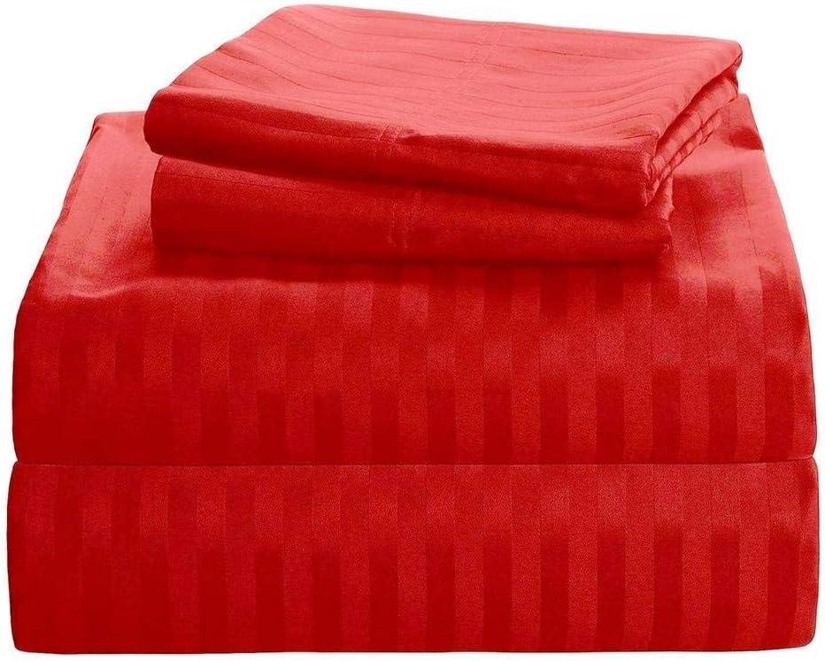 GoodWin Linen 4 Pieces 500 Fort Worth Max 54% OFF Mall Thread Supima Count Cotton 100% Brea