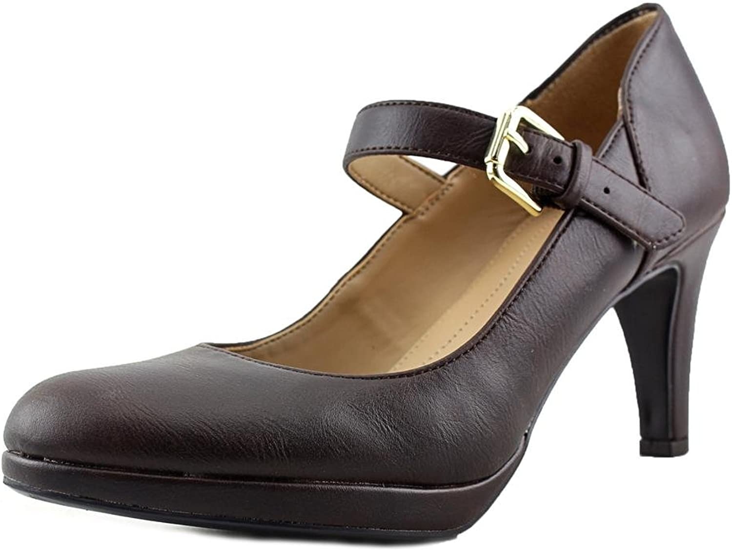 Naturalizer Pascal Women US 8 Brown Mary Janes