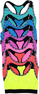 ToBeInStyle Women's Pack of 6 Sweet Sports Bras Or Pack of 6 Athletic Briefs