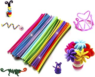 SUPVOX 200Pcs Pipe Cleaners Set Chenille Stems Colors Arts Chenille Stem for DIY Art Creative Crafts Decorations