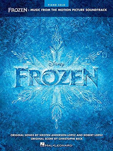 Frozen - Music From Motion Picture Soundtrack -Intermediate - Advanced piano solo-: Songbook für Klavier