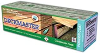 Deckmaster Contractor Pack Hidden Deck Bracket Kit, 100 Pk