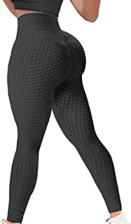 High Waist Butt Lifting Anti Cellulite Workout Leggings...