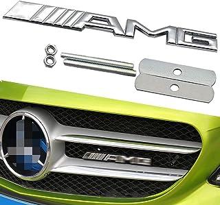 【KTR匠の精神】ベンツカーフロントグリルAMGロゴ 社外品GLE GLS CLA GLA GLB V CLASS coupe E CLASS C CLASS S CLASS MAYBACH SL SLC EQC GCLASS AMG GT A...