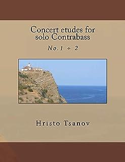 Concert etudes for solo Contrabass