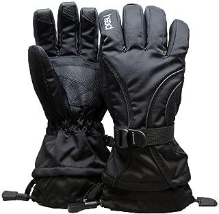 Junior Ski Glove 6-10 (M, Black) - NEW