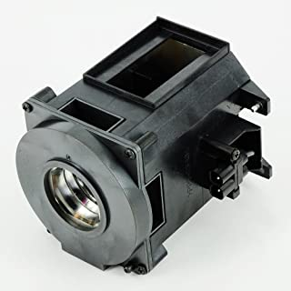 CTLAMP NP21LP / 60003224 Original Projector Lamp NP21LP with Original Bare Bulb Inside Lamp with Housing Compatible with NEC NP-PA500U NP-PA500X NP-PA5520W NP-PA600X NP-PA550W