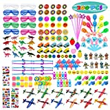 Kissdream 200 PCS Party Favors Assortment for Kids,Pinata Filler Toys for Kids Birthday Party,Carnival Prizes and School Classroom Rewards,Bulk Toys Treasure Box for Boys and Girls