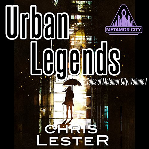 Urban Legends audiobook cover art