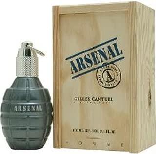 Gilles Cantuel Arsenal Blue Eau De Parfum for men 3.4 oz