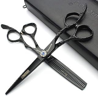 YLLN Haarknipschaar Japan 6 Inch Hot Professionele Kappersschaar Kapper Scharen Set Kapper Tool Salon Kit (2 stuks)