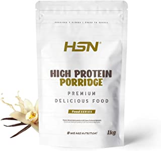 HSN High Protein Porridge   Suitable for Vegetarian Diet   Quick and Easy to Prepare   with Whey Protein and Milk   Low in...